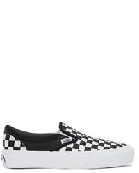 Vans Black White Slip On Vlt Lx Sneakers