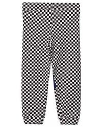 Bang Bang Copenhagen Black And White Checkerboard Happy Check Leggings