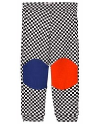 Bang Bang Copenhagen Black And White Checkerboard Happy Check Leggings