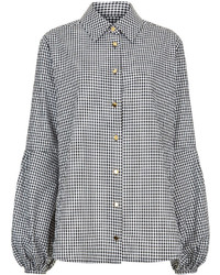 Macgraw gingham cotton baguette blouse medium 3638351