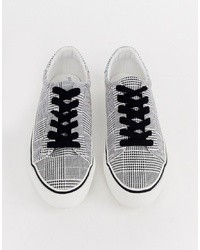 ASOS DESIGN Diffuse Lace Up Trainers