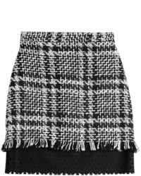 MSGM Mini Skirt With Wool