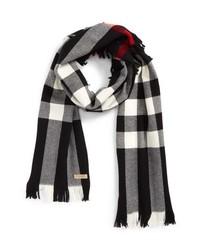 Burberry Half Mega Fashion Wool Fringe Scarf