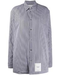 Maison Margiela Check Print Shirt Jacket