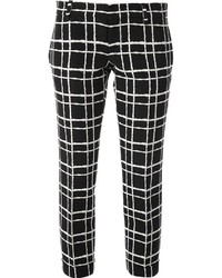 Dsquared2 Checked Slim Fit Trouser