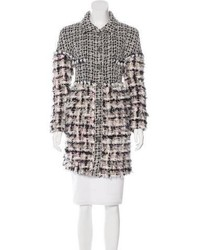 Fantasy fur tweed coat medium 5370991