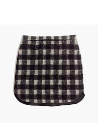 Madewell Shirttail Skirt In Buffalo Plaid