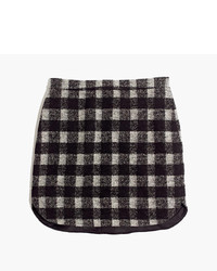 Madewell Shirttail Skirt In Buffalo Plaid
