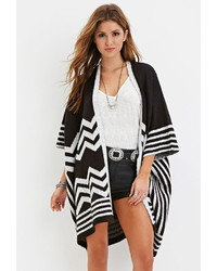Chevron patterned poncho medium 347539