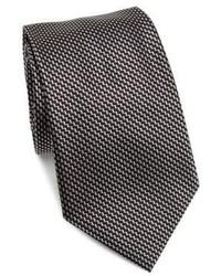 Armani Collezioni Silk Chevron Tie