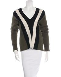 Wool patterned sweater medium 3644602