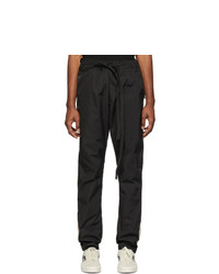 Fear Of God Black And Off White Tearaway Lounge Pants