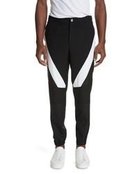 Versus Versace Diagonal Insert Wool Pants