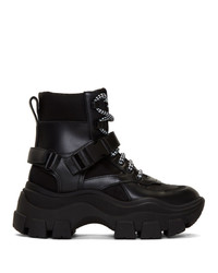 Prada Black Chunky Boots
