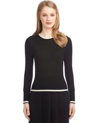 Brooks Brothers Color Block Crewneck Sweater