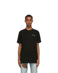 Off-White Black Chest T Shirt