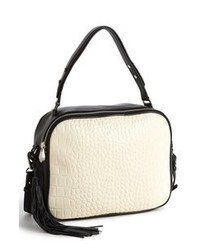 Black and White Crossbody Bag