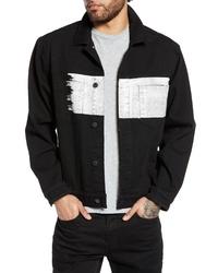 Wesc Painted Denim Jacket