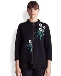 Marni Bonded Jersey Embroidered Jacket