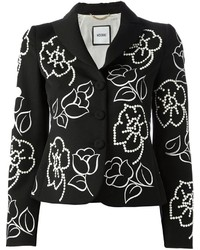 Moschino Flower Embroidered Jacket