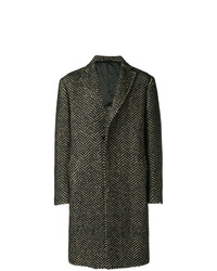 Tonello Embroidered Fitted Coat