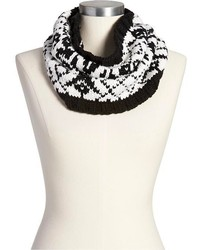 Fair isle funnel scarves medium 121255