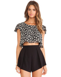 Lucca Couture Cropped Tee