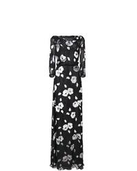 Carolina Herrera Floral Long Dress