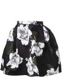 Lanvin Floral Print Skirt