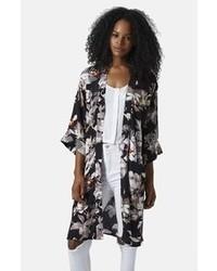 Topshop Fantasy Floral Kimono