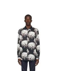 DOUBLE RAINBOUU Black Space Junk Shirt
