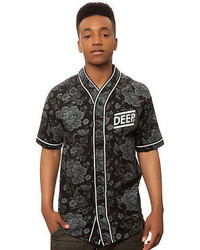 10.Deep 10 Deep The Blue Diamond Baseball Jersey