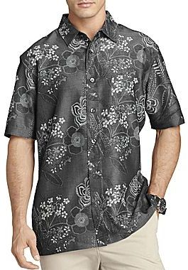 f6523803b45 ... Van Heusen Short Sleeve Tropical Shirt