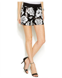 MICHAEL Michael Kors Michl Michl Kors Floral Sequin Drawstring Shorts