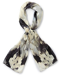 Vince Camuto Ink Flowers Scarf