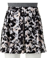 Joe B Pleated Floral Skater Skirt Juniors
