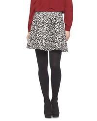 Printed Scuba Skater Skirt Lily Star