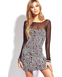 Forever 21 Standout Geo Bodycon Dress