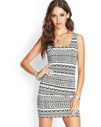 Forever 21 Tribal Print Knit Dress