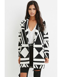 Forever 21 Geo Patterned Coat