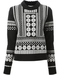 Chloé Patterned Knit Sweater