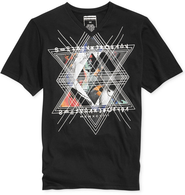 Sean john triangle t shirt where to buy how to wear for Sean john t shirts for mens