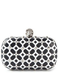 Alexander mcqueen skull box clutch medium 38965