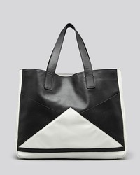 Fabiola pedrazzini tote colorblock embossed medium 47255