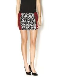 Chaser Tapestry Mini Skirt