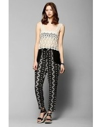 Urban Outfitters Staring At Stars Relaxed Woven Pant