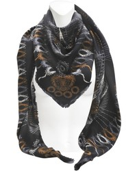 Carsten haase double sided printed magic cat shawl medium 122367