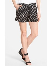 Geo eyelet cotton shorts medium 239919