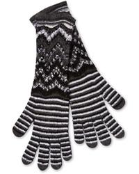 Missoni Chevron Stripe Wool Gloves