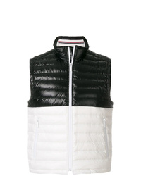 Thom Browne Quilted Down D Satin Vest